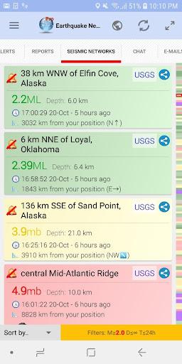 ud83dudea8 Earthquake Network - Realtime alerts 10.11.19 Screenshots 3