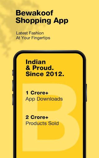 Bewakoof - Online Shopping App for Men & Women  screenshots 1
