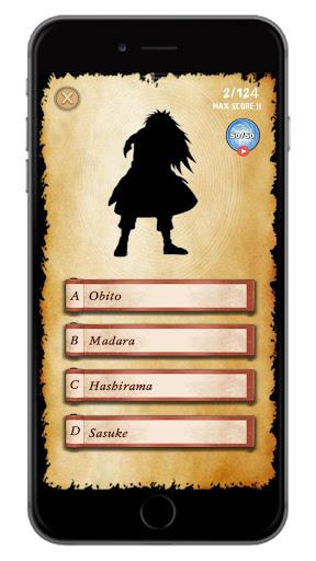 Naru Quiz: Guess all the Characters screenshots 7