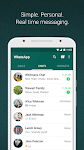 screenshot of WhatsApp Messenger