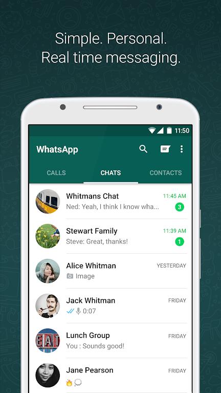 WhatsApp Messenger poster 0