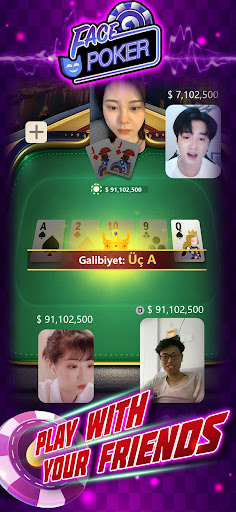 Face Poker - Live Texas Holdem Poker With Friends 1.8.0 1