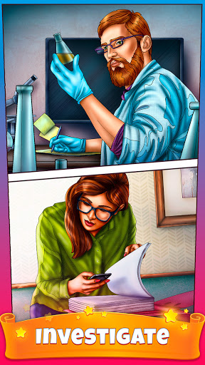 Color By Number Secrets - Coloring Book Stories  screenshots 3