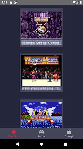 Retro Game Emulator (MD2/GENESIS) apkpoly screenshots 1