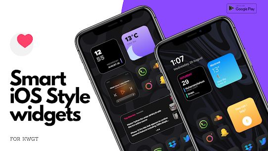 Smart iOS Style widgets (MOD, Paid) v6.1 1