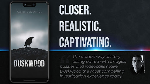 Duskwood - Crime & Investigation Detective Story apktram screenshots 12