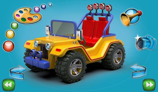kids cars puzzle lite screenshot 2