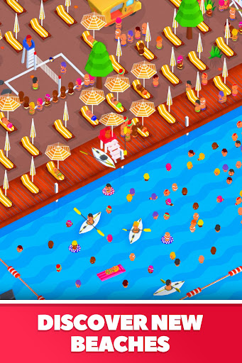 Idle Beach Tycoon : Cash Manager Simulator  screenshots 3
