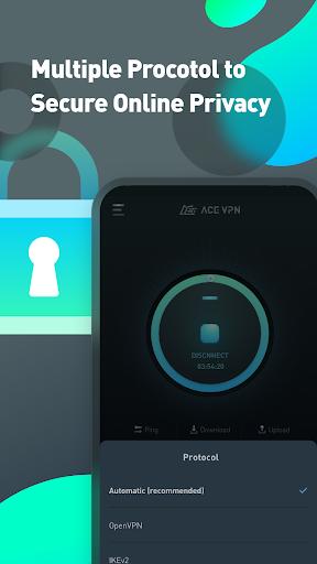 Super VPN Proxy Master & Protector - ACE VPN android2mod screenshots 5