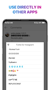 Cool Fonts for Instagram - Stylish Text Fancy Font