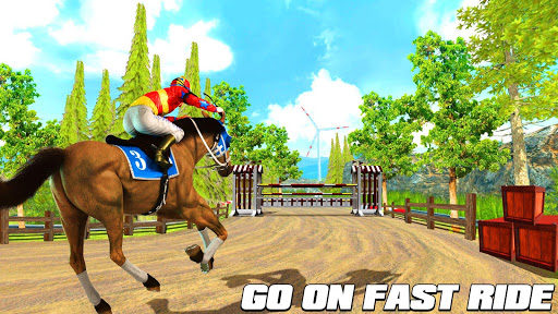 Horse Riding Simulator 3D : Jockey Mobile Game apktram screenshots 6
