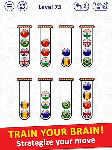 Ballu00a0Sort Puzzle - Bubble Sort Color Puzzle Game apkpoly screenshots 6
