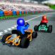 カートラッシュレーシング- 3Dオンラインライバルワールドツアー