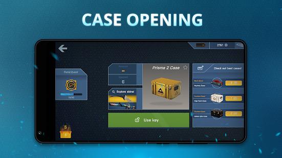 Case Opener - simulateur de skins avec mini-jeux