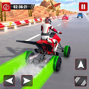 Cyber ATV Quad Bike Rider: Traffic Racing Games