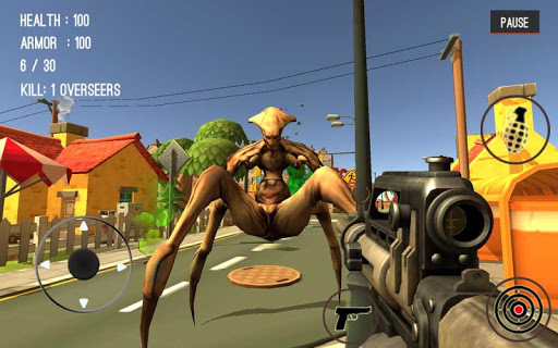 Monster Killing City Shooting III Trigger Strike 1.0.1 screenshots 9