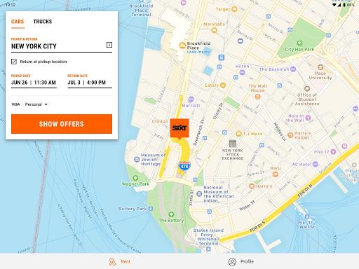 SIXT: Car rental, Carsharing & Taxi 9.40.2-10277 Screenshots 6