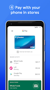 Google Pay (old app) Screenshot