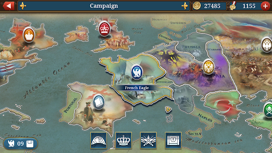 European War 6: 1804 - Napoleon Strategy Game Screenshot