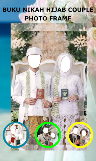 Book Wedding Hijab Couple Photo Frame 1.3 Screenshots 8