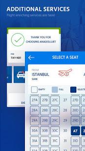 AnadoluJet Cheap Flight Ticket 2.2.1 Screenshots 3