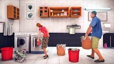 バーチャル 家族 パパ 生活 嬉しい 家族 シミュレーター 3Dのおすすめ画像2