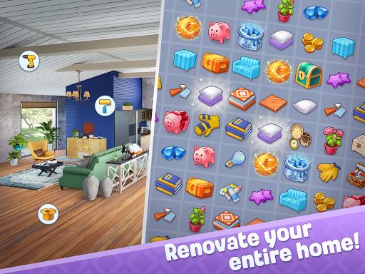 Merge Design: Home Renovation & Mansion Makeover 1.6.2 screenshots 7