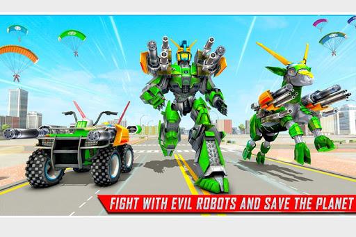 Goat Robot Transforming Games: ATV Bike Robot Game screenshots 5