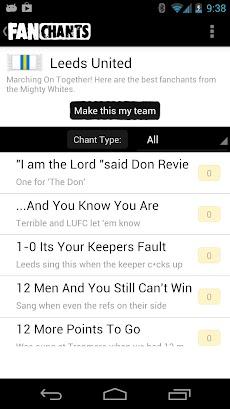 FanChants Free Football Songsのおすすめ画像4