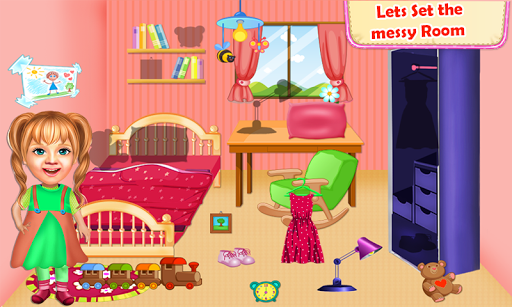 Sweet Baby Girl Cleaning Games 2021: House Cleanup screenshots 7