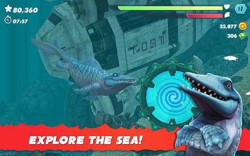 Hungry Shark Evolution - Offline survival game  screenshots 10