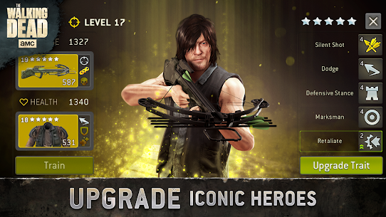 The Walking Dead No Man's Land Unlimited Gold Apk 3