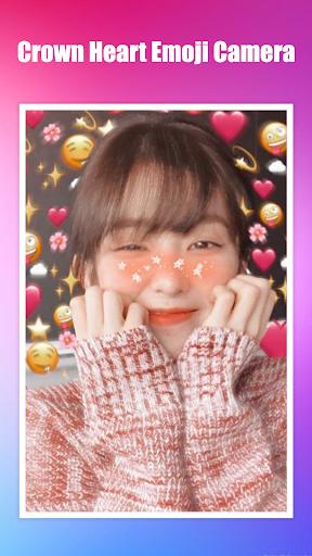 Crown Heart Emoji Camera 1.3.2 Screenshots 8