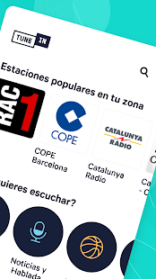 TuneIn Radio: noticias, música, podcasts, fm radio Screenshot