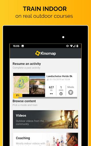 Kinomap - Indoor training videos  Screenshots 13
