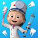 マーシャとくま: 歯科手術と歯医者ゲーム無料