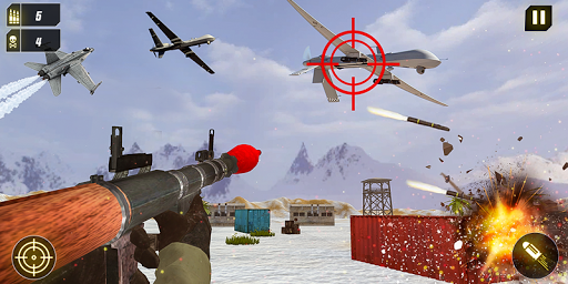 Military Missile Launcher:Sky Jet Warfare 1.0.8 screenshots 4