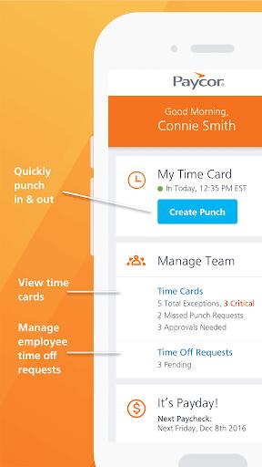 Paycor Mobile modavailable screenshots 3
