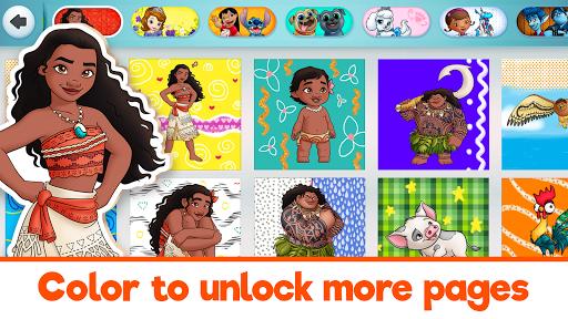 Disney Coloring World - Color & Play Kids Games 7.1.0 screenshots 5
