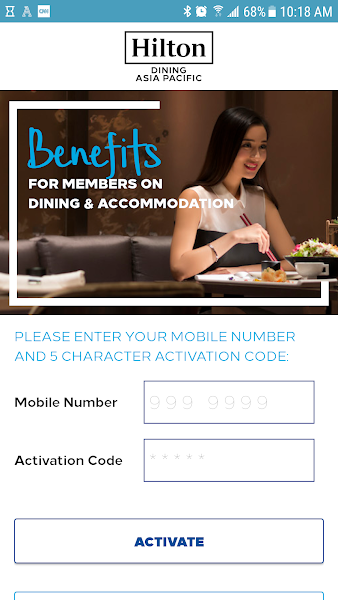 Hilton Dining Asia Pacific