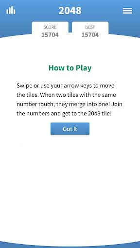 2048 Classic u00b7 Swipe Game  screenshots 3