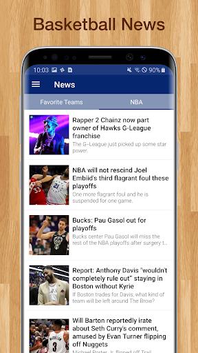 Basketball NBA Live Scores, Stats, & Schedules 9.2.1 Screenshots 7