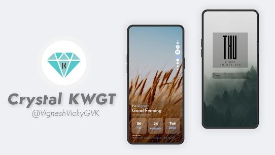 Crystal KWGT 10.0 Apk 1
