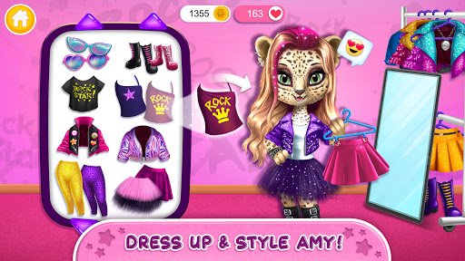 Rock Star Animal Hair Salon - Super Style & Makeup 4.0.70031 screenshots 2