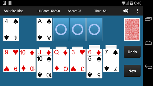 Solitaire Riot Free 1.2.2 screenshots 1