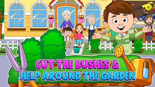 My Town : Grandparents Free For Android (MOD, Unlimited Money) 4