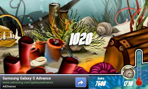 free hidden world aqua screenshot 1