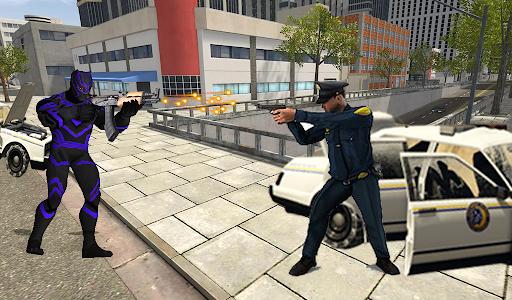 Super Black Hero Rope android2mod screenshots 3