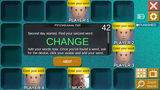 mad or med: deduction party game with words! screenshot 2
