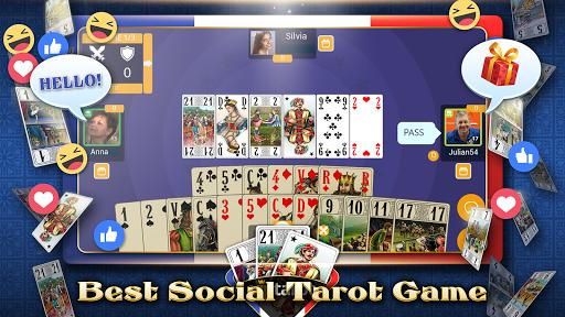 VIP Tarot - Free French Tarot Online Card Game 3.7.4.26 screenshots 1